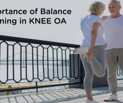 Importance of balance training in KNEE OA
